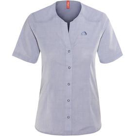 Tatonka Cormac Shortsleeve Shirt Women blue